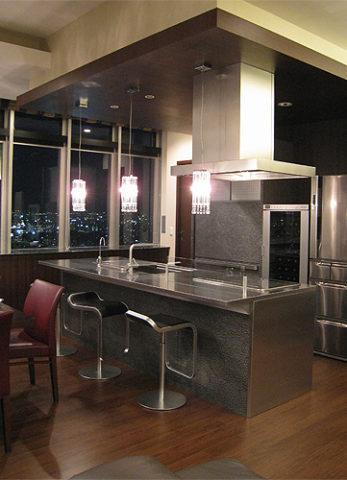 タワーマンション ゲストルーム キッチン