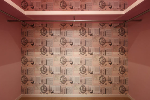 クローゼットの壁