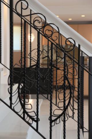 階段アイアンデザイン