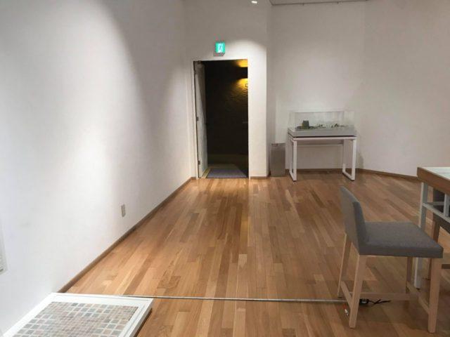 モザイクタイルミュージアム2階before