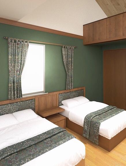 洋室 ベッドルーム