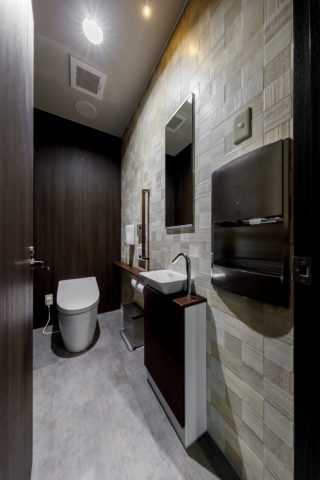 エグゼクティブフロアのトイレ