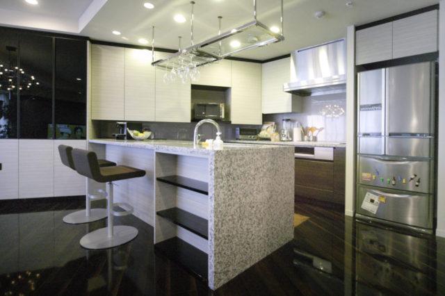 タワーマンション設計変更 キッチン
