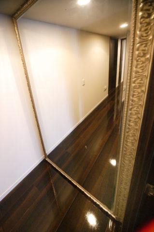 設計変更 廊下