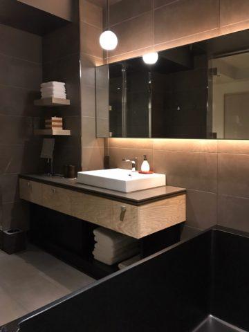 星のや東京 客室 浴室の洗面