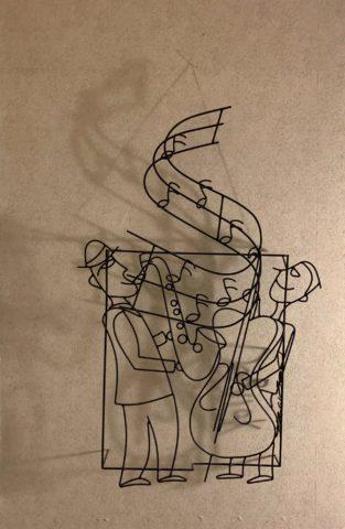 亀井家のアイアンアート