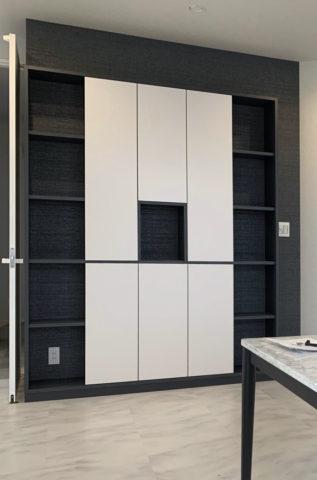 2階飾り棚、造作家具