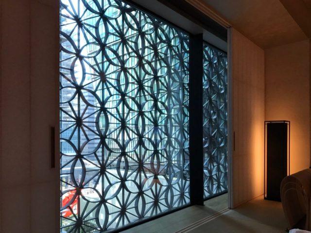 星のや東京 客室窓辺