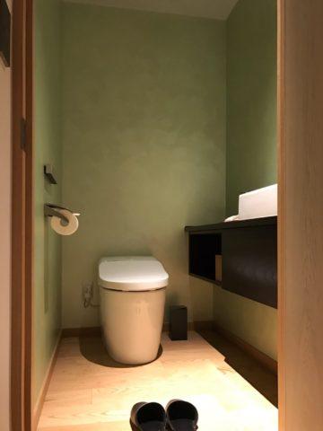 星のや東京 客室トイレ
