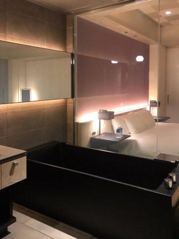 星のや東京 客室の浴室