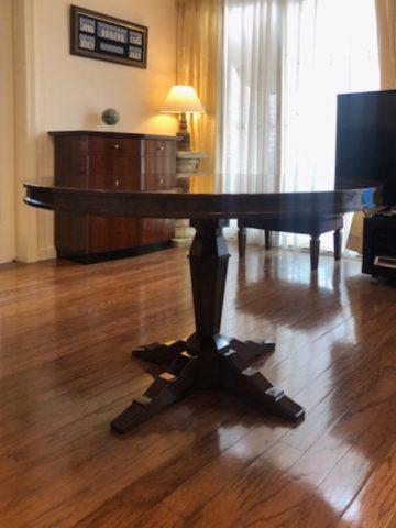 丸テーブル造作